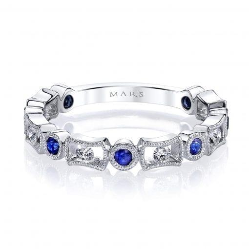 Diamond & Saphire Ring Style #: MARS-26211WGBS|Diamond & Saphire Ring Style #: MARS-26211WGBS|Diamond & Saphire Ring Style #: MARS-26211WGBS|Diamond & Saphire Ring Style #: MARS-26211WGBS