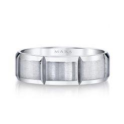 Modern Men's Wedding BandStyle #: MARS G120