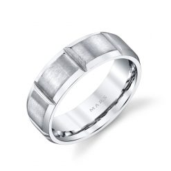 Modern Men's Wedding BandStyle #: MARS G120