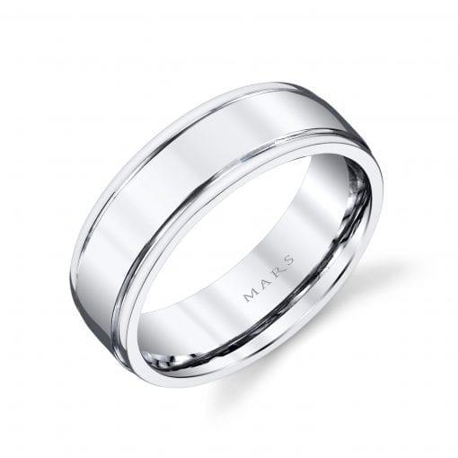 Classic Men's Wedding BandStyle #: MARS G122