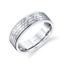 Unique Men's Wedding BandStyle #: MARS G137