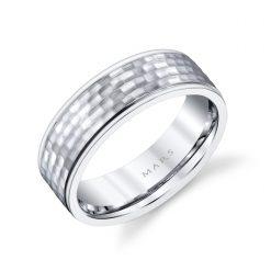 Unique Men's Wedding Band<br>Style #: MARS G137