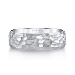 Unique Men's Wedding BandStyle #: MARS G139