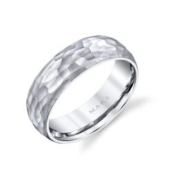 Unique Men's Wedding Band<br>Style #: MARS G139