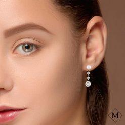 Pearl  EarringsStyle #: MD-EAR10001