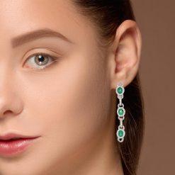 Emerald EarringsStyle #: PD-59632