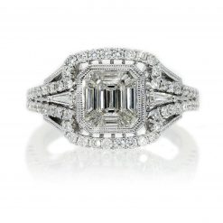 Emerald Cut Diamond RingStyle #: PD-76140