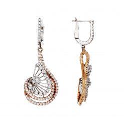 Diamond EarringsStyle #: ANC-AN2467B-