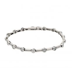 Diamond BraceletStyle #: MH-BRAC-719-01