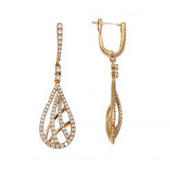 Diamond EarringsStyle #: PD-LQ8991E