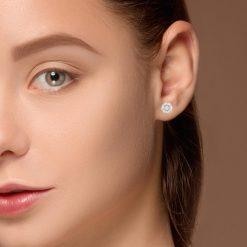 3.09ctw. Diamond EarringsStyle #: ER300-0022