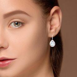 Blue Topaz EarringsStyle #: MH-EAR-419-03