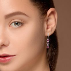 Ruby EarringsStyle #: PD-LQ4570E