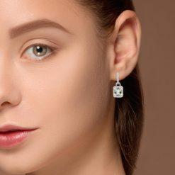 Garnet EarringsStyle #: PD-LQ4837E