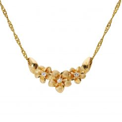 Diamond NecklaceStyle #: Estate
