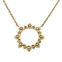 Diamond NecklaceStyle #: PD-LQ3041N
