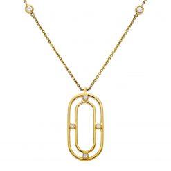 Diamond NecklaceStyle #: LQ3630N