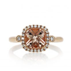 Morganite RingStyle #: ANC-NV976
