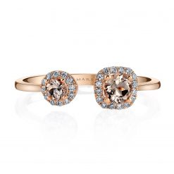 Morganite RingStyle #: iMARS-26912