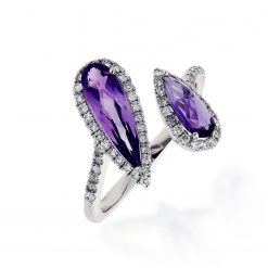 Amethyst RingStyle #: ANC-NV1338