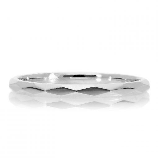 White Gold RingStyle #: MARS-27249WG