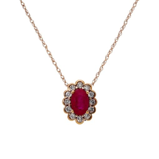 Ruby NecklaceStyle #: ROY-PC8238R