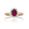 Ruby RingStyle #: ROY-PC8411R