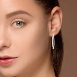 Diamond EarringsStyle #: ROY-WC3892D