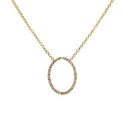 Diamond NecklaceStyle #: PD-JQL409N