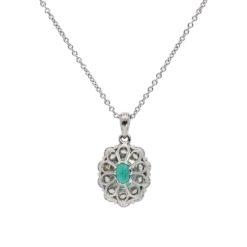 Emerald NecklaceStyle #: PD-LQ9073P